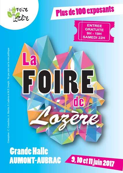 Affiche du salon La Foire de Lozère - édition 2017