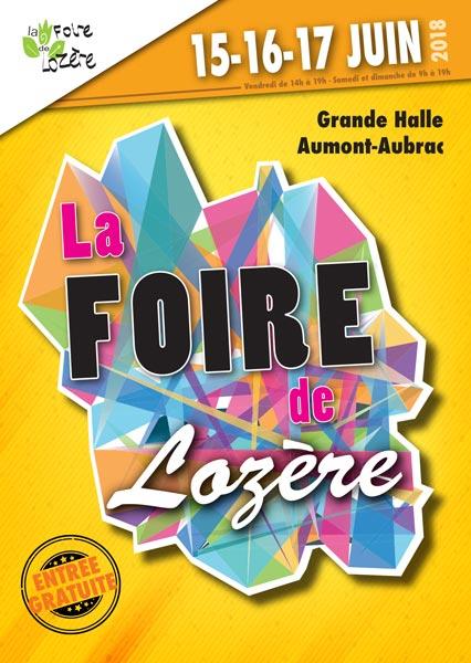 Affiche du salon La Foire de Lozère - édition 2018