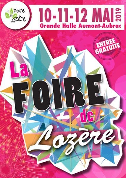 Affiche du salon La Foire de Lozère - édition 2019
